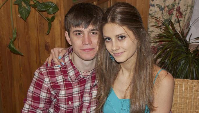 Дария Переверзева со своим гражданским мужем Дмитрием Колесниковым