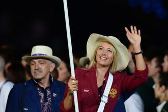 Мария Шарапова проведет первый матч на Играх