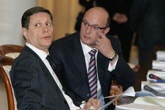 Александр Жуков и Дмитрий Чернышенко