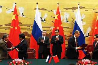 В Пекине состоялась 18-я регулярная встреча российской и китайской делегаций