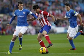 Мадридский «Атлетико» продолжает побеждать на своем домашней арене