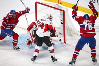 «Монреаль» одержал вторую победу в серии с «Оттавой»
