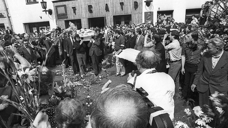 Похороны Владимира Высоцкого, 28 июля 1980 года