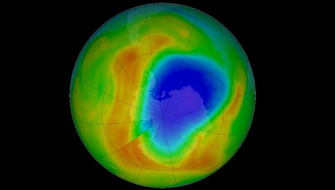 «Отличные новости»: озоновая дыра достигла рекорда