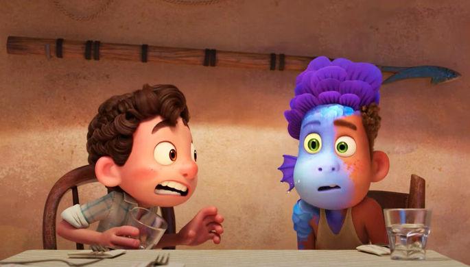 Кадр из мультфильма «Лука (2021)