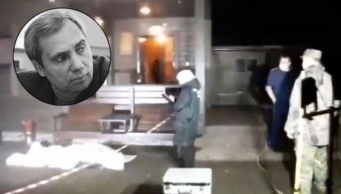 На месте убийства бизнесмена и депутата Выборгского района Ленинградской области Александра Петрова на территории его дома в поселке Великое, 24 октября 2020 года