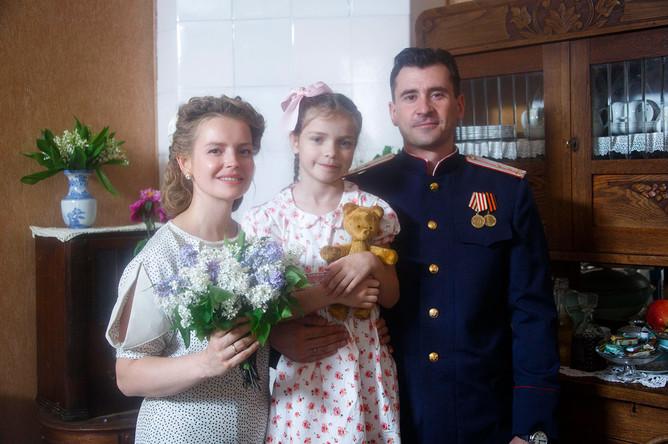 На съемках сериала «Ленинград 46»