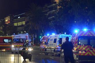 Теракт в Ницце. Десятки погибших