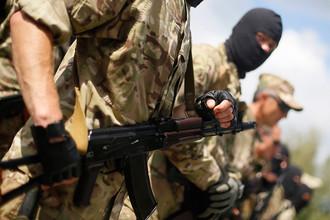 Добровольцы батальона «Донбасс»