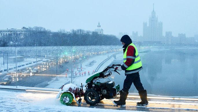 В Москве в пятницу ожидается до-12°С