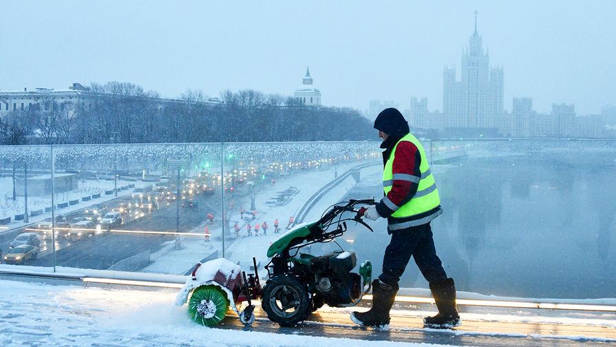 В Москве во вторник ожидается до-2°С