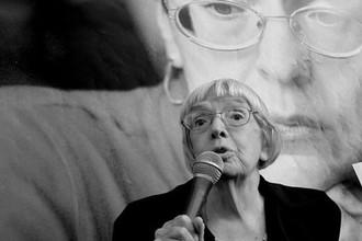 <b>Людмила Алексеева (20 июля 1927 — 8 декабря 2018).</b> Советский диссидент и российский общественный деятель, участница правозащитного движения в СССР и постсоветской России, один из основателей (в 1976 году) Московской Хельсинкской группы, с 1996 года ее председатель