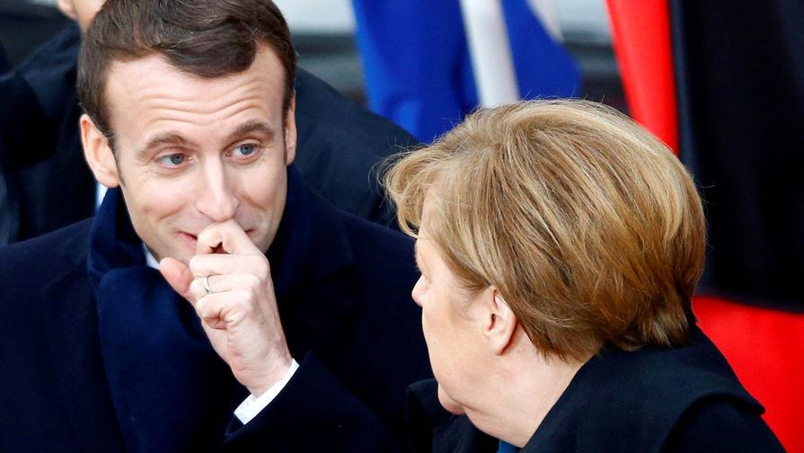 Меркель, Макрон и Зеленский призвали РФ отвести войска от границы с Украиной