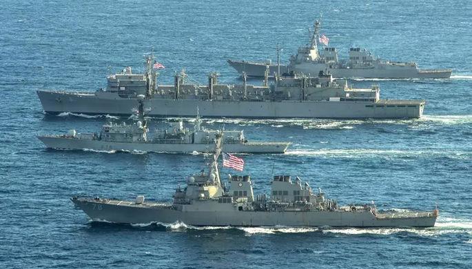 «От безделья»: в России не рады кораблям НАТО у границ