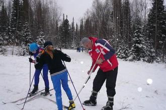 Природные катаклизмы не останавливают лыжников