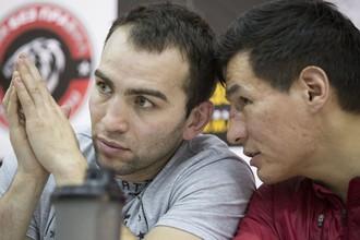 Камил Гаджиев и Бату Хасиков