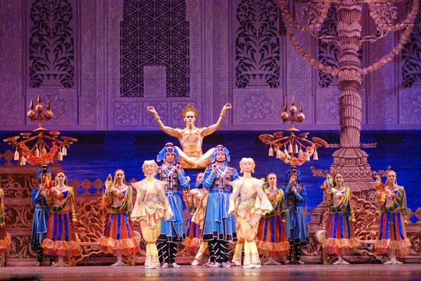Балет в 3 действиях «Баядерка»