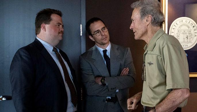 Клинт Иствуд на съемках фильма «Дело Ричарда Джуэлла»