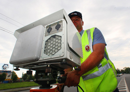 На дорожные камеры в России с начала года потрачено 1,6 млрд рублей