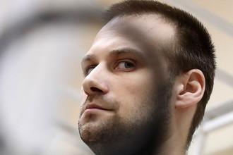 Электромеханик Андрей Белоусов перед оглашением приговора в Хорошевском суде, 18 сентября 2017 года
