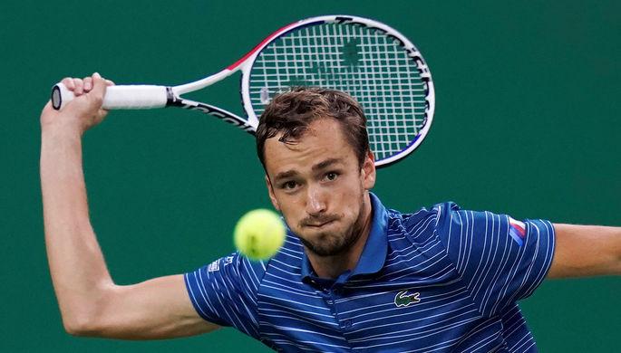 Даниил Медведев стал победителем турнира серии «Мастерс» в Шанхае