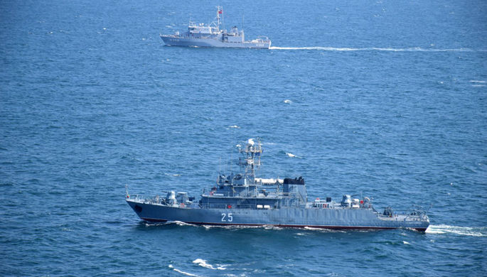 13 кораблей, 9 самолетов: НАТО начало учения в Черном море
