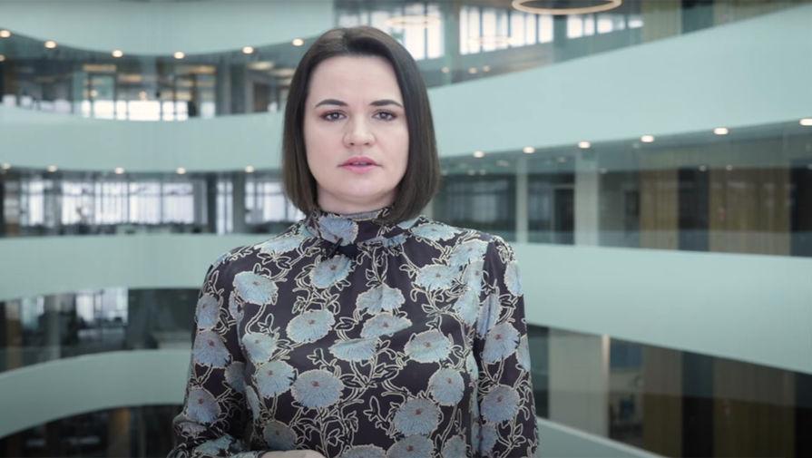 Тихановская объяснила, почему не создает партию