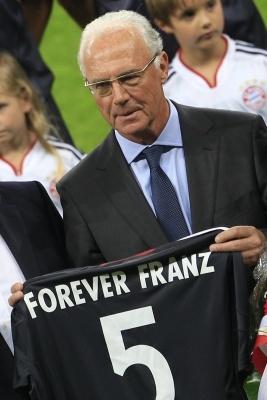 Памятная футболка Кайзеру Францу