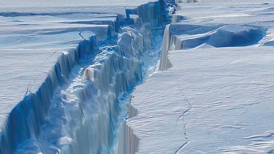 Антарктида идет на слом