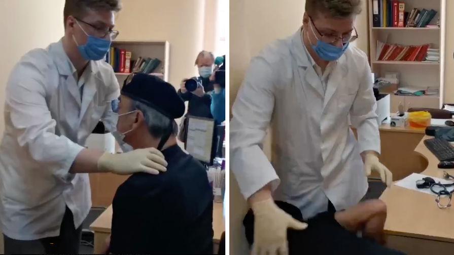 «Свалился со стула»: Боярский упал в обморок перед вакцинацией