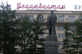 Здание бывшего музея Ленина является единственным в Монголии зданием музейного типа