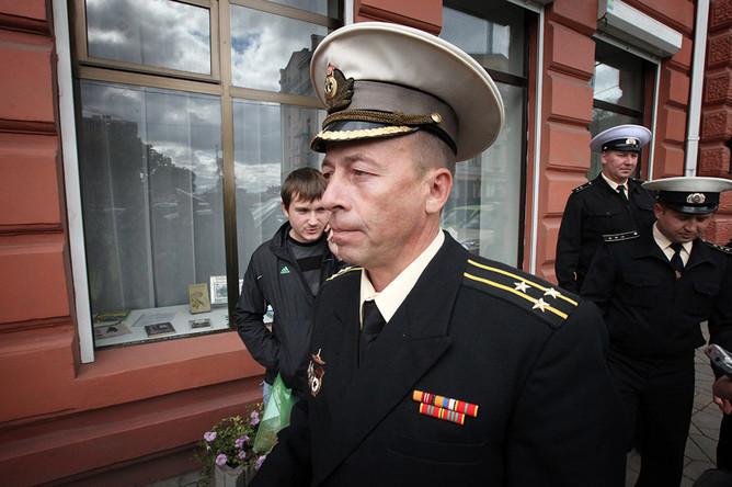 Командир АПЛ «Нерпа» Дмитрий Лаврентьев, оправданный по обвинению в аварии на атомной подводной лодке «Нерпа»