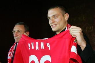 Неманья Видич был одним из лучших игроков «Спартака» в середине 2000-х