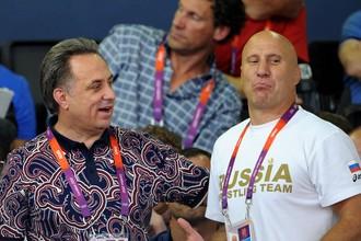 Виталий Мутко и Михаил Мамиашвили