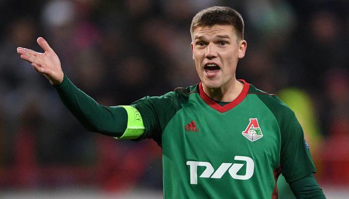 Футболист «Локомотива» Игорь Денисов