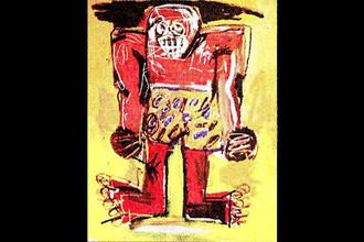 Жан-Мишель Баския. Sugar Ray Robinson. 1982