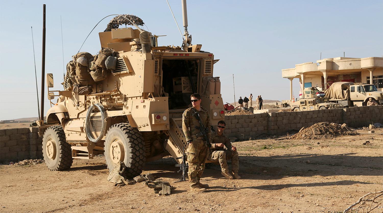 Военную базу США в Ираке обстреляли из минометов