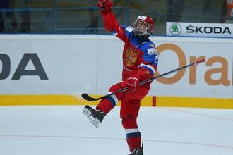 Российские хоккеисты на первенстве мира