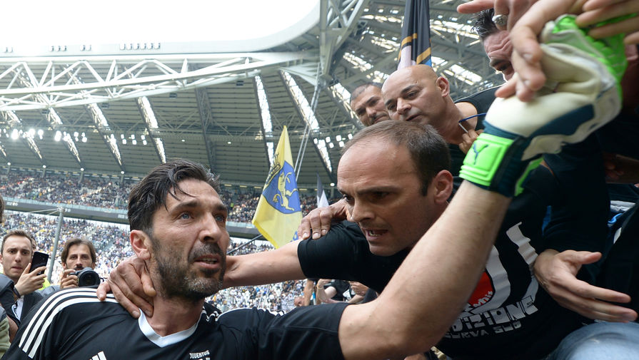 Буффон отреагировал на установление рекорда чемпионата Италии