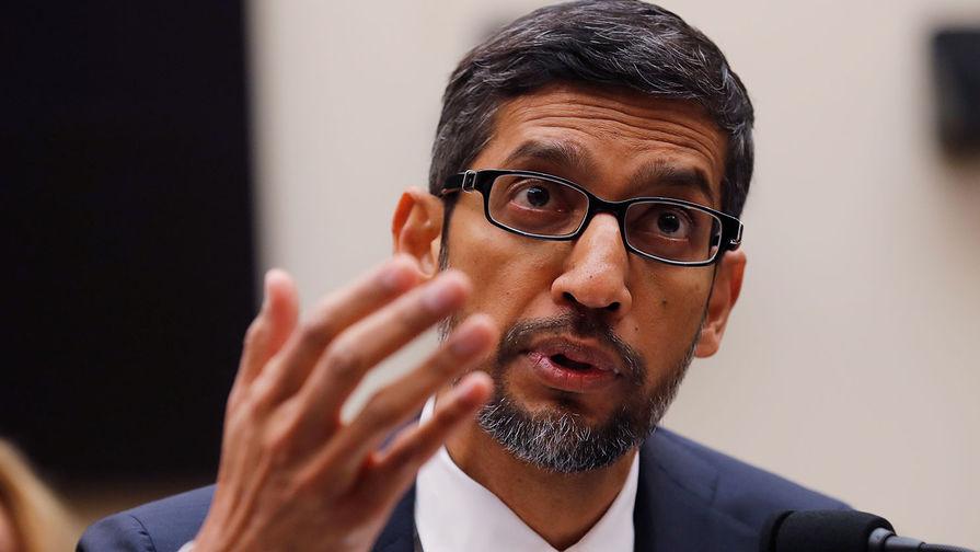 Гендиректор Google Сундар Пичаи дал показания в конгрессе США