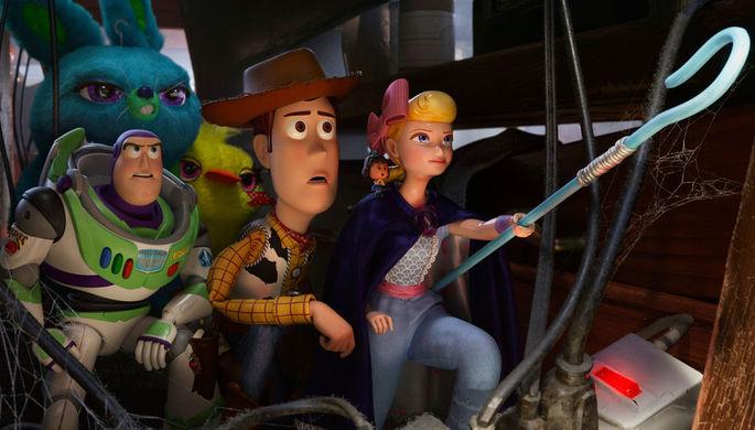 Кадр из мультфильма «История игрушек 4» (2019)