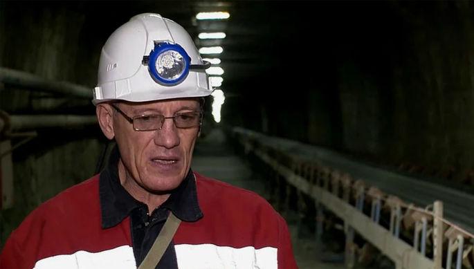 Бывший начальник подземного рудника компании «Алроса» Андрей Бурксер