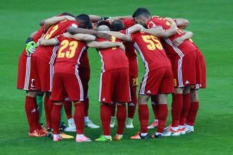Футболисты тульского «Арсенала»