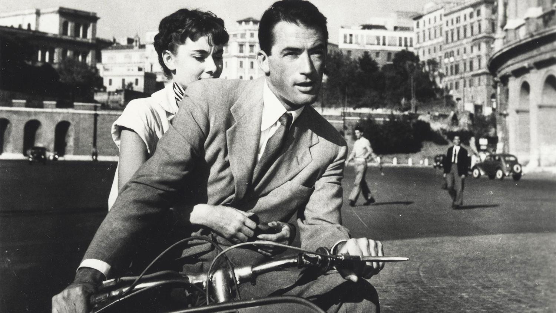 Кадр из фильма «Римские каникулы» (1953)