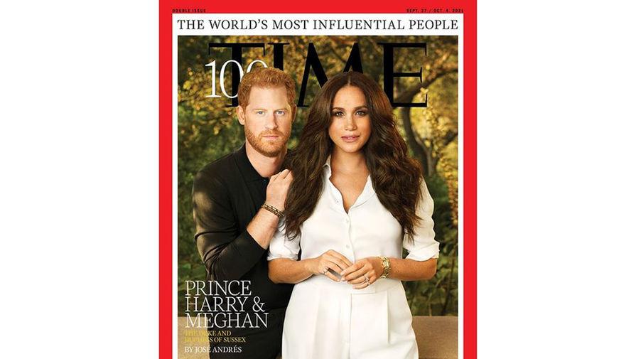 Принц Гарри и Меган Маркл впервые оказались на обложке Time