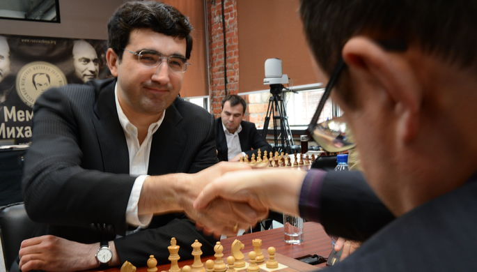14-й чемпиона мира по шахматам Владимир Крамник