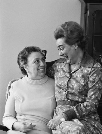 Галина Брежнева со своей матерью Викторией Петровной