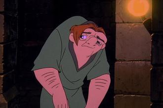 Кадр из мультипликационного фильма «Горбун из Нотр-Дама» (1996)