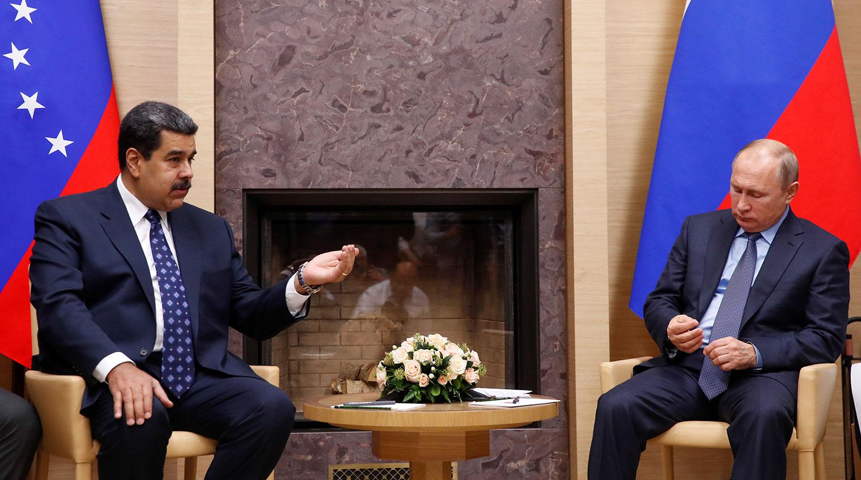 Мадуро собирается в Москву