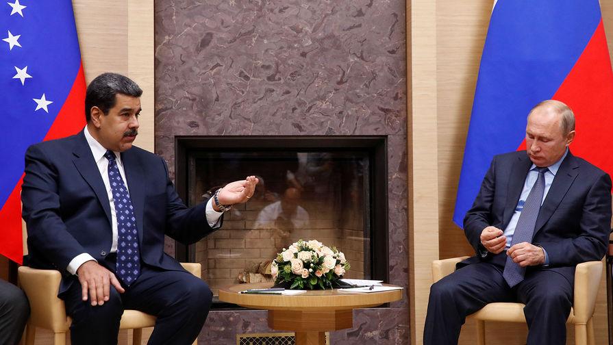 Песков назвал темы переговоров Путина и Мадуро